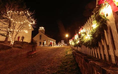 sherbrooke village old fashioned christmas gallery