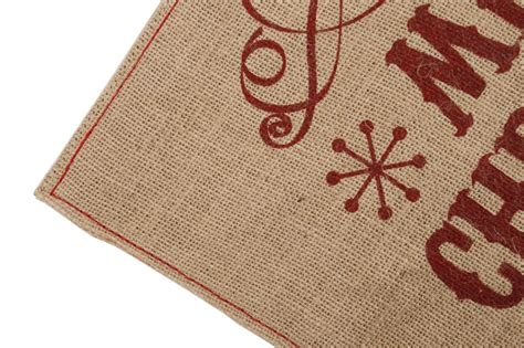 Place Mats by Set Of 2 Hessian Jute Placemats