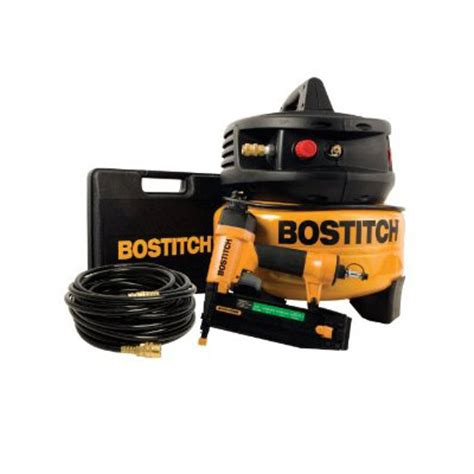 bostitch ucpack1850bnr 2 inch brad nailer and compressor combo kit ebay