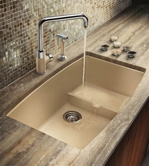 Kitchen Sink Colors Granite Composite Sinks When You Want Reliability And Aesthetics Deavita