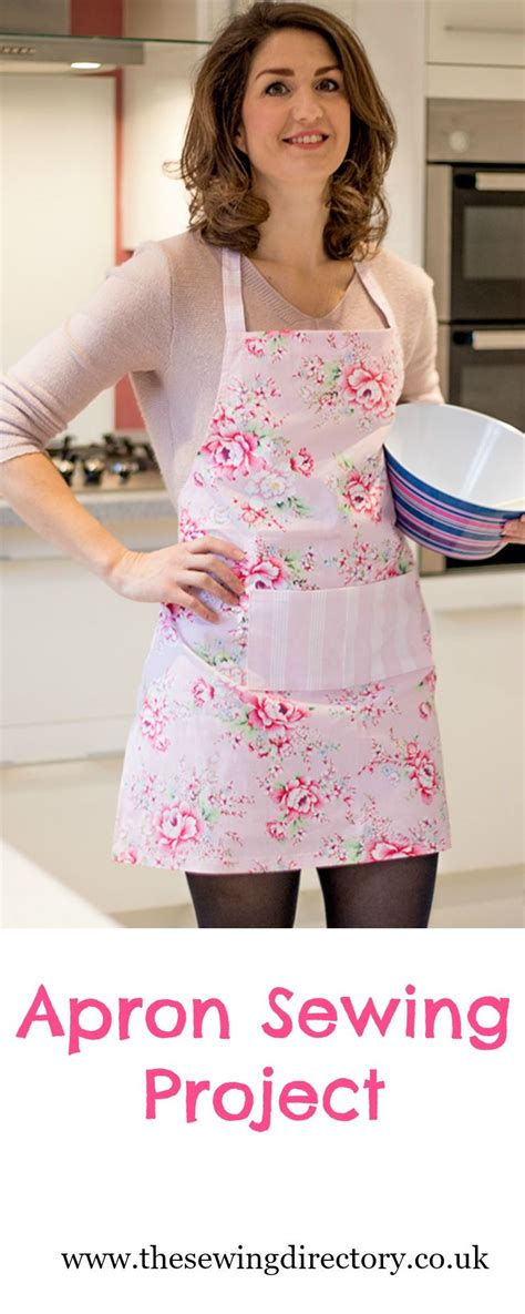 apron sewing projects sew this easy apron project perfect for a mother s day