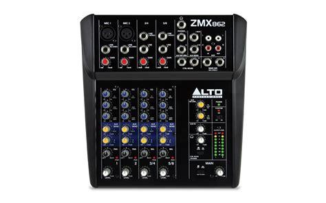 alto professional zmx862 6 kanalen pa mixer goedkoop kopen