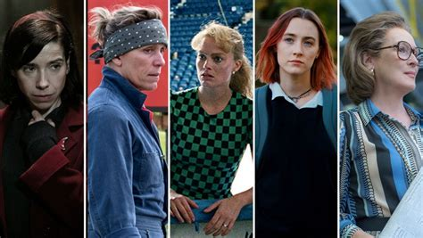 best actress nominees list oscar nominations 2018 the complete list of nominees