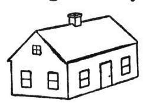coloring pictures of a house house coloring pages bestofcoloring