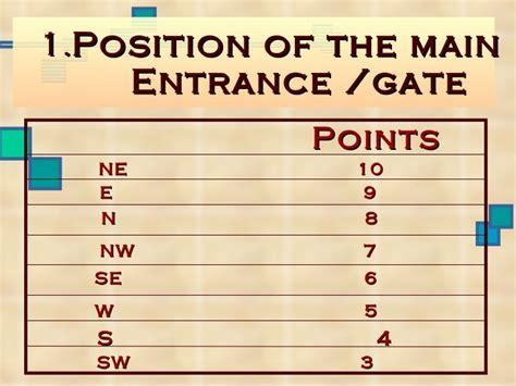 vastu tips for entrance door slide 1 ifairer com vaastu principles and their importance ppt