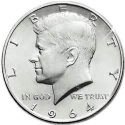 collectible coins of america 1964 kennedy half dollar