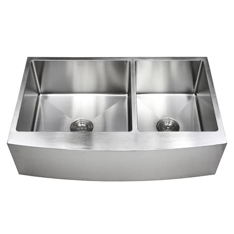 36 inch apron sink 36 inch stainless steel curved front farm apron 60 40