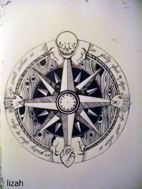 Compass Tattoo Einfach | 35 besten compass tattoos bilder auf pinterest sch 246 ne