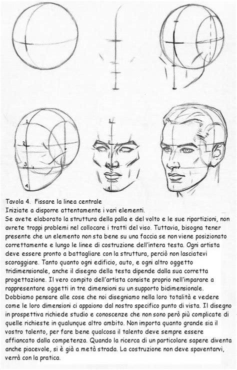 tavola per disegnare disegnare il volto secondo andrew loomis circolo d arti