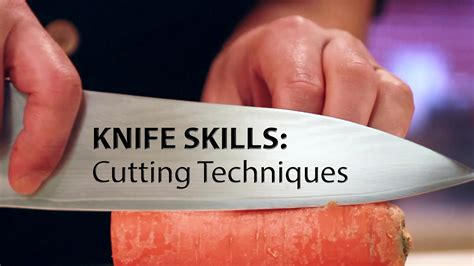 kitchen knife skills techniques for carving boning slicing chopping dicing mincing filleting books knife skills cutting techniques