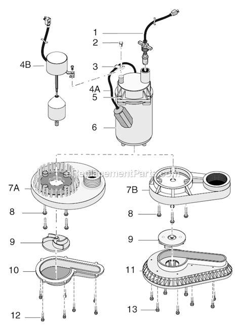 submersible parts diagram flotec fp0s3200a 09 parts list and diagram