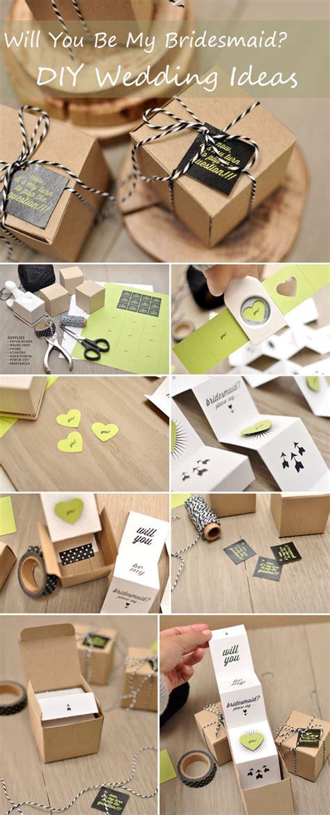 Wedding Gift Diy by Diy Wedding Ideas