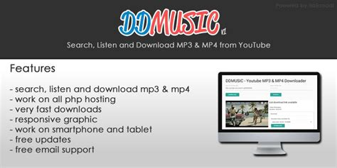 download mp3 from youtube listen ddmusic youtube mp3 mp4 convert and download script