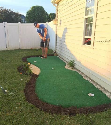 backyard practice green 25 best ideas about backyard putting green on pinterest