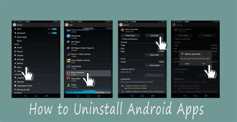 how to remove android apps how to quickly uninstall android apps techwiser
