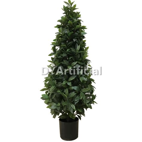 180cm potted outdoor artificial cone bay trees dongyi