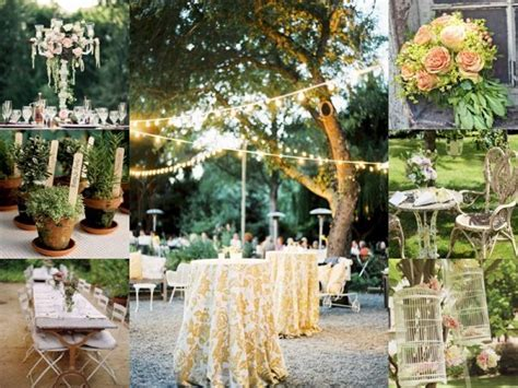 Vintage Backyard Wedding Ideas Diy Vintage Backyard Wedding 2017 2018 Best Cars Reviews