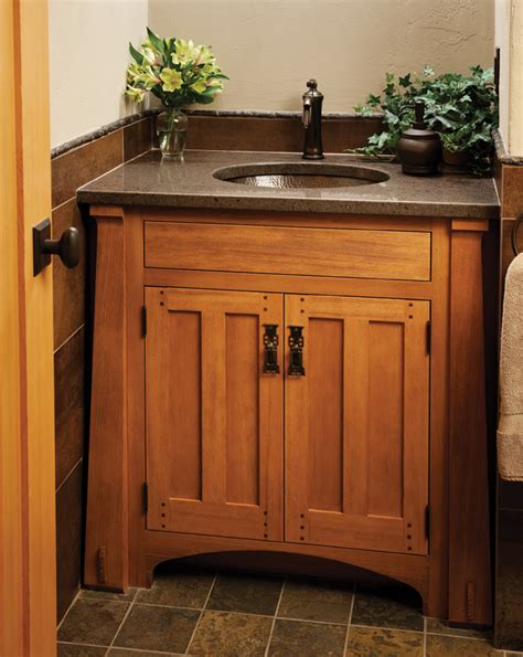 Craftsman Bathroom Vanity Craftsman Inspired Bath Vanity Craftsman Style Inspiration Pinterest Craftsman Style
