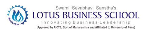 Lbs Mba Cost by Lotus Business School Pune Lbs B School In Pune Lbs Pune