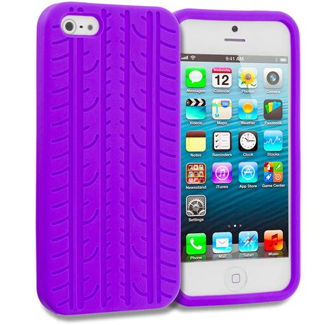 tire treads color silicone rubber skin cover for iphone 5 5g 5s ebay