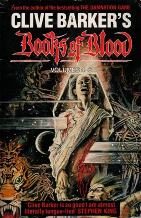 blood of books books of blood volumes 4 6 by clive barker reviews