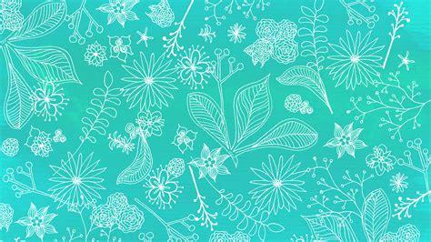 wallpaper teal flower floral wallpaper candy niemeyer