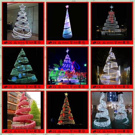 spiral lighted trees outdoor led spiral tree white outdoor lighted trees