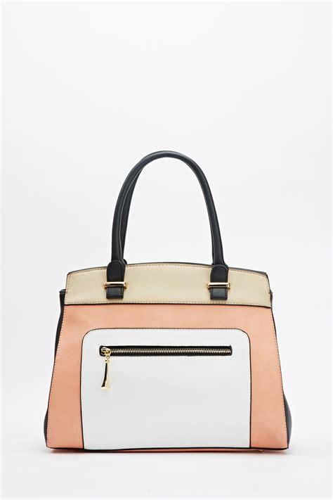 color block handbag colour block handbag just 163 5