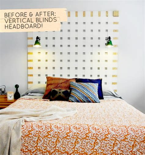 design sponge headboard before after vertical blinds headboard design sponge