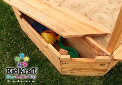 Kidkraft Backyard Sandbox by Sandbox Kidkraft Big Top Backyard Sandbox Wooden 00129