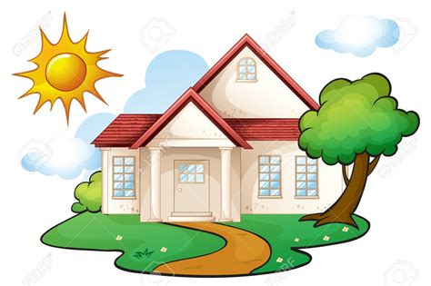 clipart home house clipart beautiful house pencil and in color house