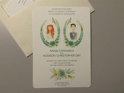 Wedding Invitation Artwork by Unique Wedding Invitations From Personalized Artwork