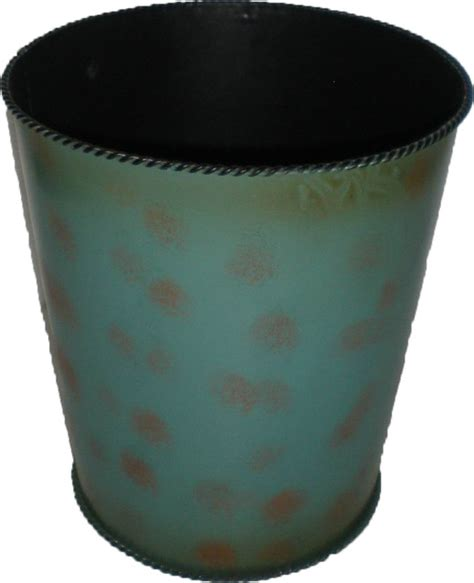 Turquoise Bathroom Trash Can Hiend Accents Turquoise Waste Basket Wastebaskets Houzz
