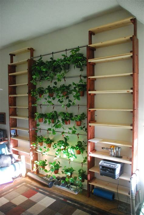 how to build a custom stackable garden bookshelf for