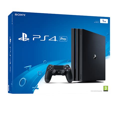 buy ps4 console buy ps4 pro 1tb console ps4 free uk delivery shopto