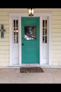 front door colors for yellow house who would of thought this color for the door would look