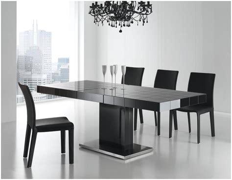 esstisch schwarz glas ebs esstisch stuhl set essgruppe - Schwarzer Speisesaal Mit Bank Set