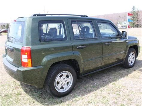 Jeep Patriot 2008 Mpg Purchase Used 2008 Jeep Patriot Sport 4wd In Lake Ariel