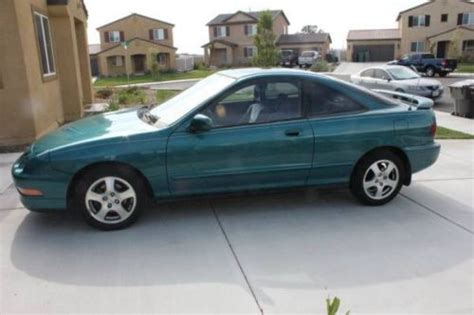 auto air conditioning repair 1995 acura integra on board diagnostic system find used 1995 acura integra gsr 2 door coupe hatchback green stock aem moonroof power all in