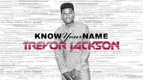 trevor jackson know your name trevor jackson know your name feat sage the gemini