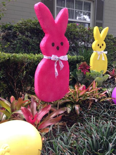 large easter bunny decoration quot how to quot fast super easy