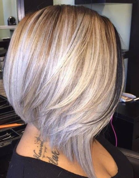 blonde bob line 20 of the most hottest a line bob hairstyles hottest