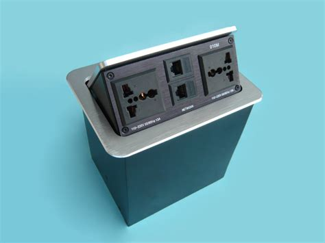 Office Desk Power Sockets by Table Top Socket Office Desk Power Outlets For Conference