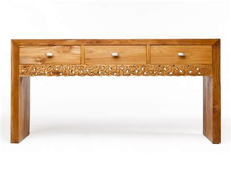 Media Console Table Furniture Crafted Teak Media Console Table Teak Media Console The Best Quality Of Furniture