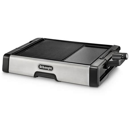 Delonghi Grill by Delonghi 2 In 1 Ceramic Coated Indoor Grill Bg500c The Home Depot