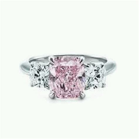wedding rings with pink diamonds pink engagement ring jewelry accessories