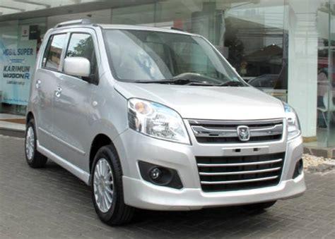 Garnis Depan Wagon R 3 spesifikasi dan harga mobil suzuki karimun wagon r terbaru