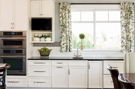 long kitchen cabinet handles beautiful transitional kitchen features white shaker