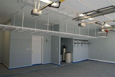 Motorized Overhead Garage Storage Systems by Storage Racks Motorized Storage