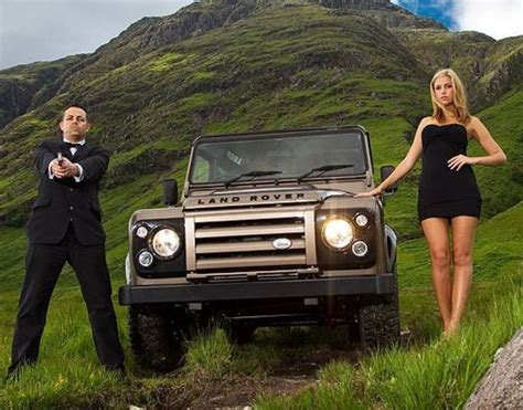 range rover truck in skyfall land rover defender from the bond quot the living